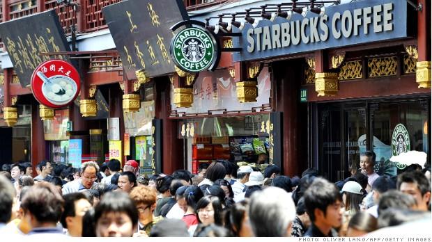 Starbucks Çin - AFP PHOTO / OLIVER LANG (Photo credit should read OLIVER LANG/AFP/Getty Images)