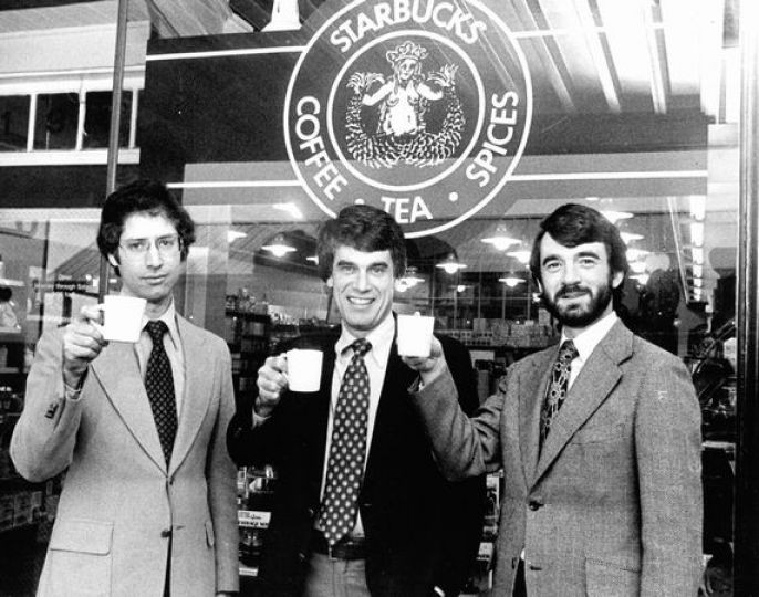Starbucks Kurucuları - Fotoğraf: seattlepi.com