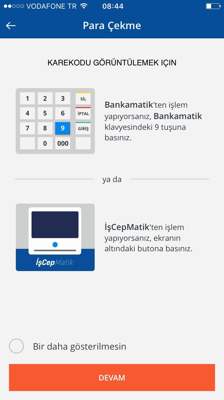 Karekod ile kartsız para çekme görsel 3.