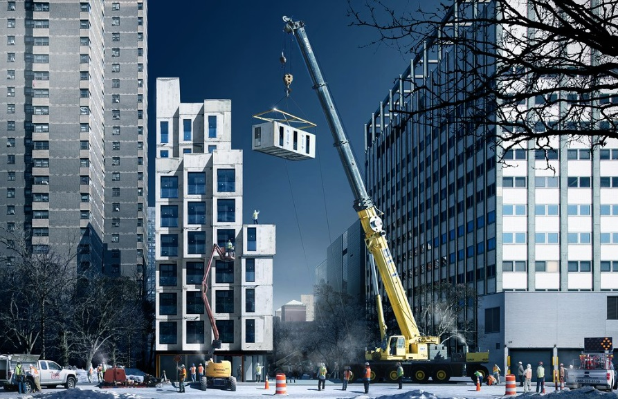 New York'un ilk mikro daireleri. Görsel: NYC Mayor's Office/Flickr.com