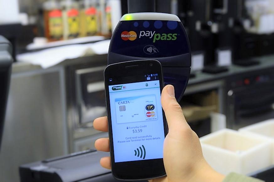 NFC Nasıl Kullanılır? Örnek kullanım şekli. Görsel: MasterCard