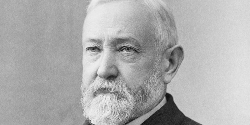 Benjamin Harrison - Wikimedia Commons.