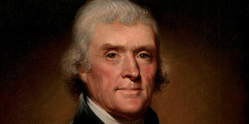 Thomas Jefferson - Wikimedia Commons.