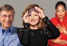 Bill Gates, Arianna Huffington, Oprah