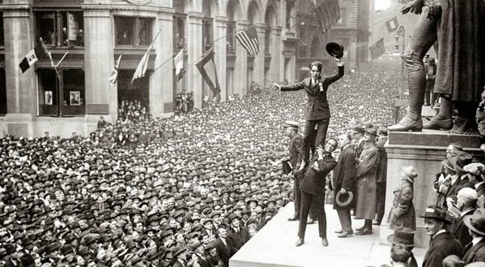 Charlie Chaplin Wall Street